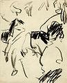 Ernst Ludwig Kirchner - Fränzi auf der Couch und Sitzende (1910).jpg