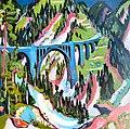 Ernst Ludwig Kirchner Brücke bei Wiesen.jpg