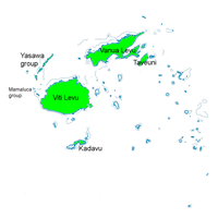 Erythrura pealii map