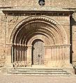 Escola de Lleida, Cubells, la Noguera. Portada de Sta. Maria del Castell, s.XIII (SiT-120724).jpg