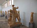 Escultures a l'interior del Museu Arqueològic de Delos.JPG