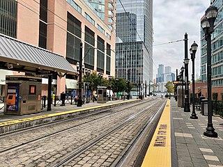 Essex Street station (Hudson–Bergen Light Rail) Hudson–Bergen Light Rail station in Jersey City, New Jersey