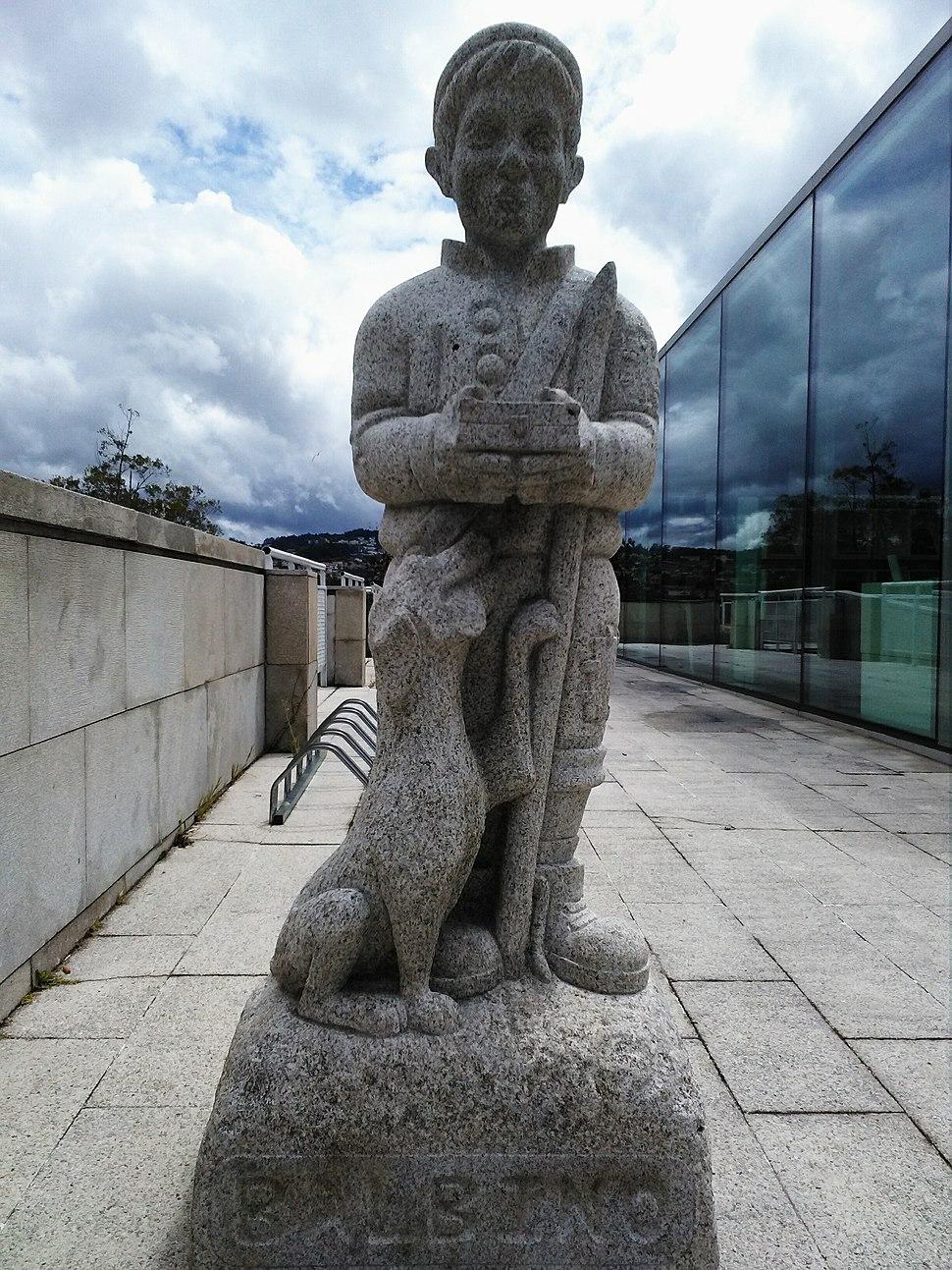 Estátua de Balbino, Vigo