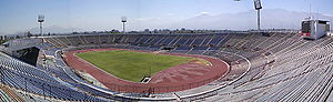 2000 World Junior Championships in Athletics - Host stadium in Chile.