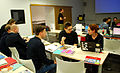 Ethnographers and Wikipedians workshop at National Ethnographic Museum, Feb 2015 04.jpg