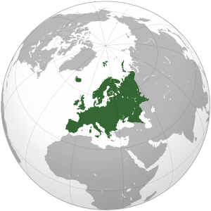 Europe (orthographic projection).svg