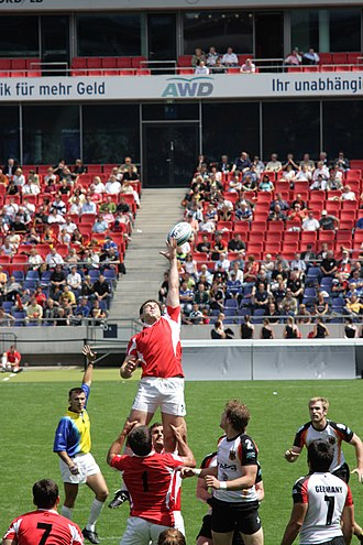 Germany national rugby sevens team - Germany playing Georgia