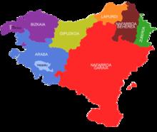 pais basco mapa País Basco – Wikipédia, a enciclopédia livre pais basco mapa