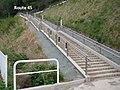 Evacuation stairway at the Omoto Elementary School.jpg