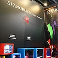 Evangelion Mini Museum, Comic Exhibition 20140811.jpg