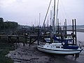 Evening, yacht berths on the River Wyre, Lancashire - geograph.org.uk - 1387080.jpg