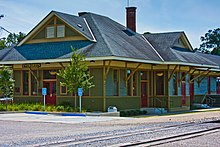 Train Station at Evergreen, AL