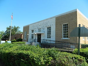 Evergreen, Conecuh County, Alabama - Evergreen post office