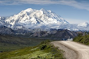 Denali National Park and Preserve - Denali is located in Denali National Park and is the tallest peak in North America