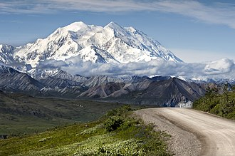 Denali National Park and Preserve - Denali is the tallest peak in North America