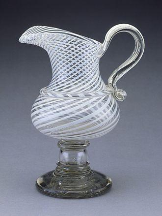 New England Glass Company - New England Glass Company ewer, 1840-1860