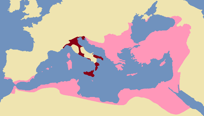 Exarchate of Ravenna 600 AD