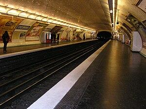 Exelmans (Paris Métro) - Image: Exelmans station (Paris Metro)