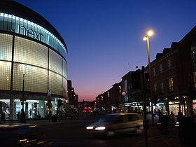 Exeter High Street at Dusk.JPG
