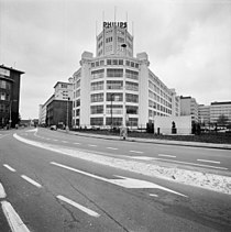 Exterieur, overzicht Philipsgebouw 'De Witte Dame' - Eindhoven - 20286049 - RCE.jpg
