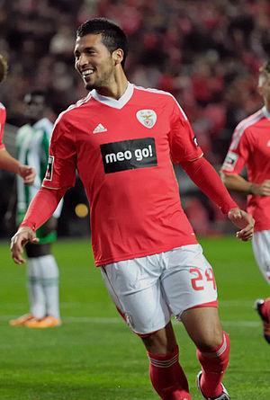 Ezequiel Garay - Garay with Benfica in 2011