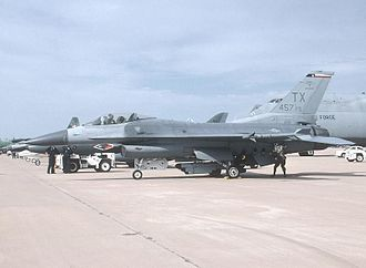 355th Fighter Squadron - F-16 Fighting Falcon of the 301st Fighter Wing at Carswell Field