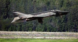 McDonnell Douglas F-4 Phantom II non-U.S. operators - An F-4F from JG 72.