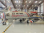 F-86 Sabre from the Skyblazers acrobatic team. (20572358004).jpg