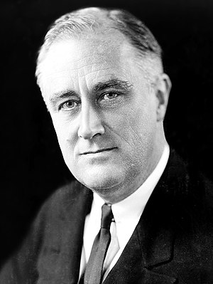 1936 Democratic National Convention - Image: FDR in 1933 (3x 4)