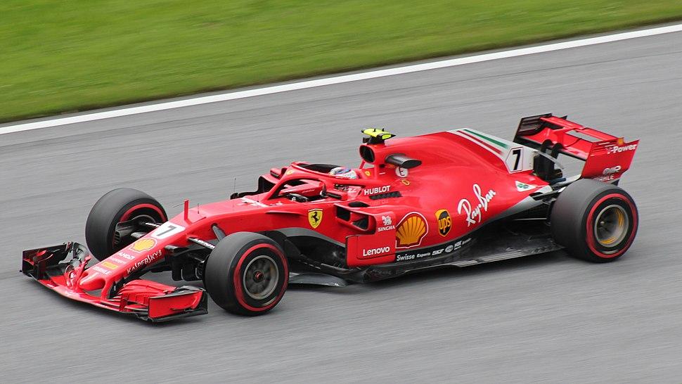 FIA F1 Austria 2018 Nr. 7 Räikkönen