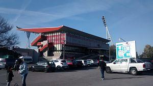 Friedrich-Ludwig-Jahn-Sportpark - Main stand