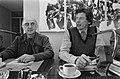 FNV-federatieraad in Amsterdam, Wim Split (vice-voorzitter FNV) met Wim Kok tijd, Bestanddeelnr 931-1810.jpg