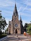 façade church bergharen (wijchen, gld, nl)