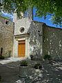 Façade de l'église d'Aubenas-les-Alpes.JPG