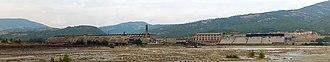 Trepča Mines - Image: Fabric and accumulators of Trepça mine