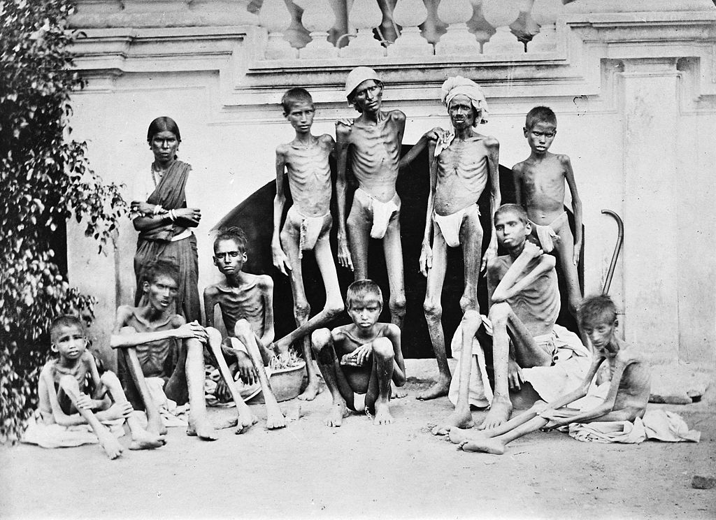 印度史上的大饥荒 - 银河 - 银河@生存主义唱诗班