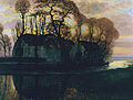 Farm Near Duivendrecht, in the Evening by Piet Mondrian.jpg