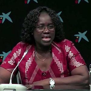 Fatumata Djau Baldé - pictured in 2015