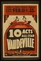 Federal Theatre Project presents 10 acts all star vaudeville LCCN98516896.tif