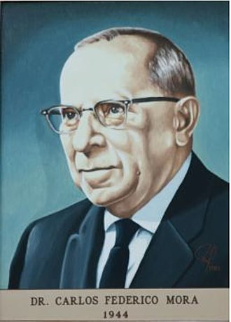 Universidad de San Carlos de Guatemala - Dr. Carlos Federico Mora, last president of the National University and first president of University of San Carlos.