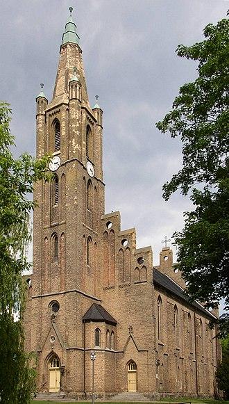 Fehrbellin - Image: Fehrbellin church