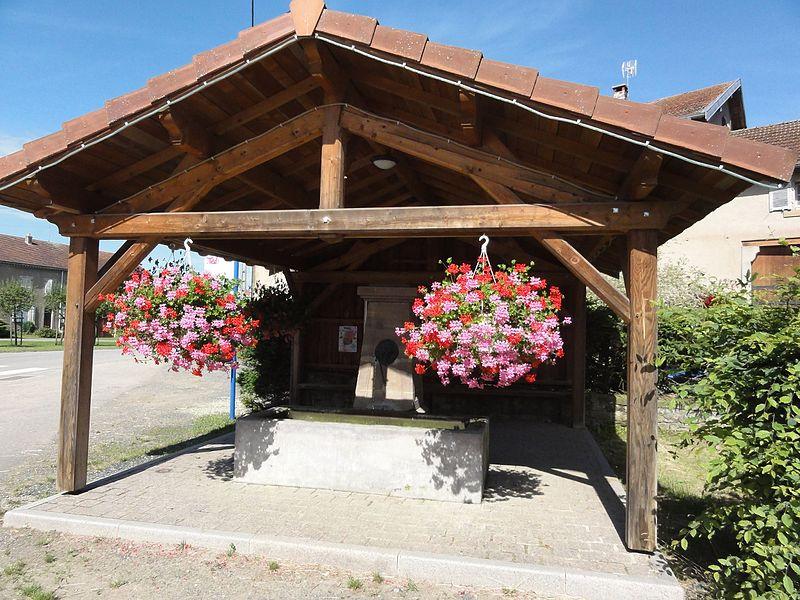 Fenneviller (M-et-M) fontaine couverte