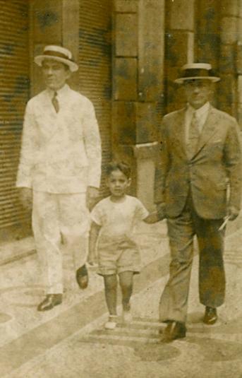 Fernando Henrique Cardoso na década de 1930