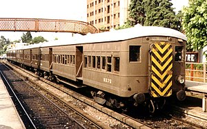 Metropolitan-Vickers - Metrovick electric multiple unit made for Central Argentine Railway in 1931. They worked until 1995.