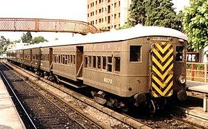 Mitre Line - A Metropolitan Vickers in B. Mitre (1990).