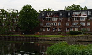 1970s Council Housing In Haringey North London