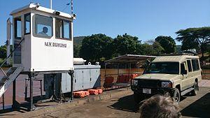Ludewa District - Ferry across the Ruhuhu river, Tanzania