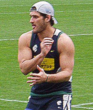 Brendan Fevola - Fevola at Carlton training, November 2007.