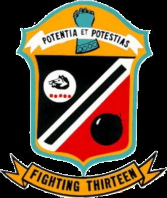VF-13 (1948-1969) - VF-13 squadron patch