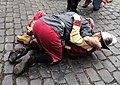 Fighting to the dead beggard and Spanish soldier Brielle.jpg